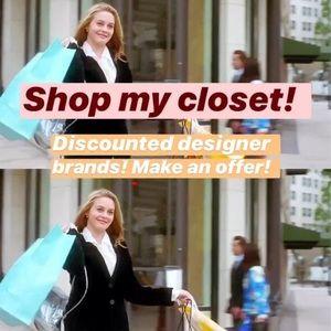 Closet sale!